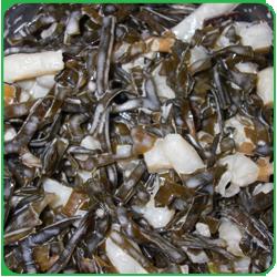 Салат из кальмаров с морской капустой