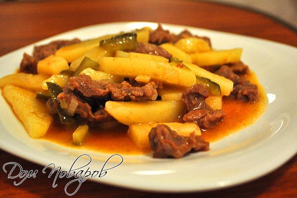 Как готовить азу из говядины