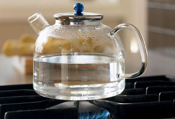 стекляный чайник