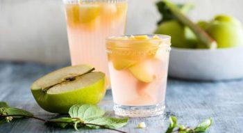 Как сварить компот из яблок на зиму