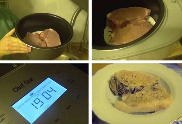 варка мяса в мультиварке