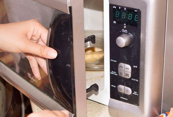 приготовление гарнира в микроволновке