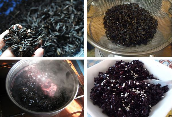 приготовление дикого риса