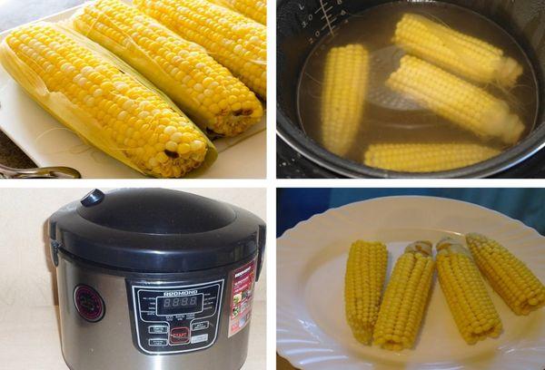 приготовление пищи в мультиварке Редмонд