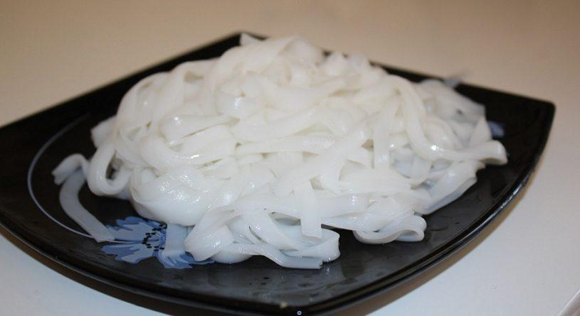 Как варить рисовую лапшу