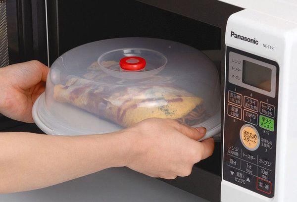 еда в микроволновой печи