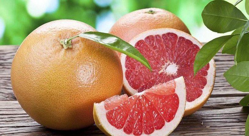 Как чистить грейпфрут