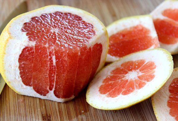 грейпфрут без кожуры