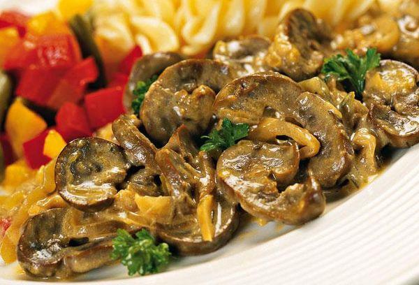 рецепт почек с грибами