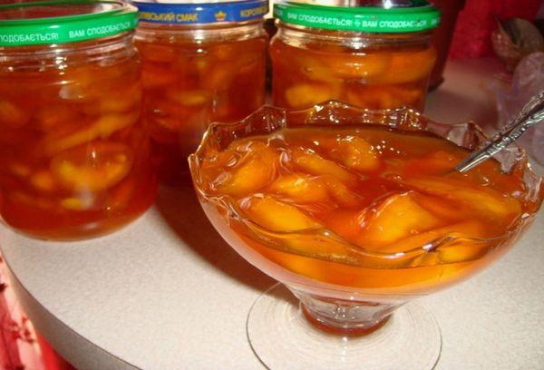 Микс из лимонов и персиков