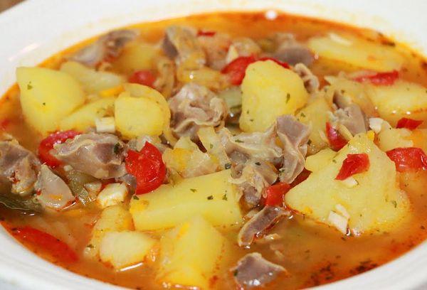 суп с желудочками