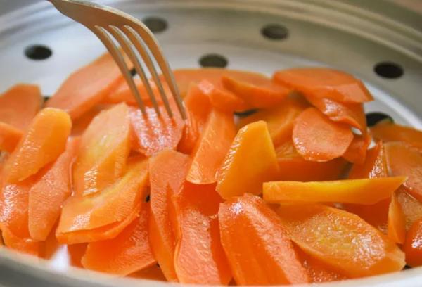 морковь в пароварке