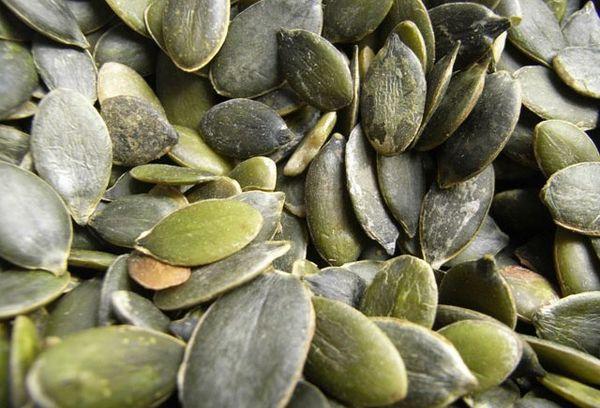 Сырые тыквенные семена