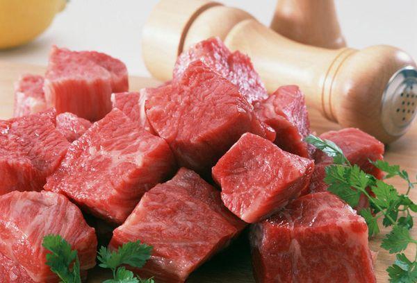сырое говяжье мясо