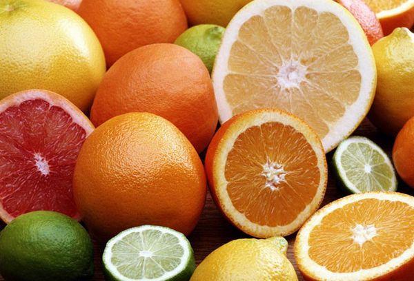 Лимоны, лаймы, грейпфруты и апельсины