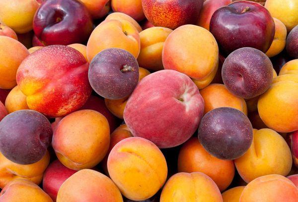 Персики и сливы