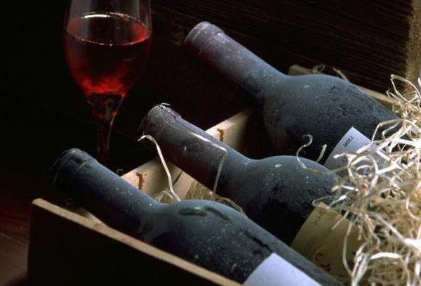 три бутылки вина