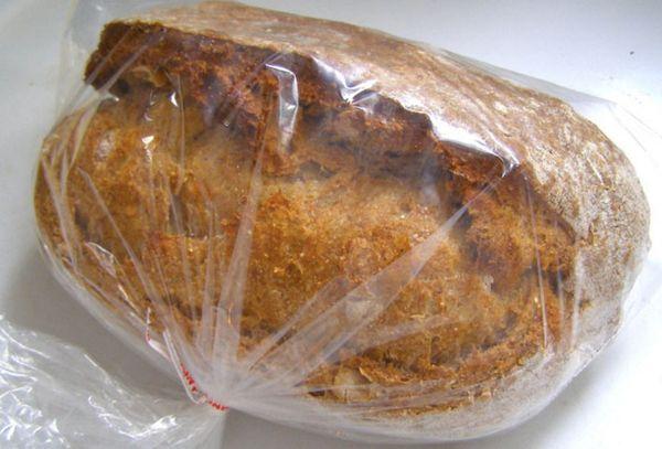 хлеб в пакете