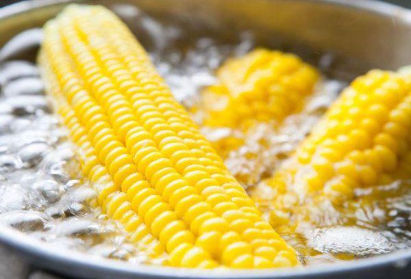 отваривание кукурузы