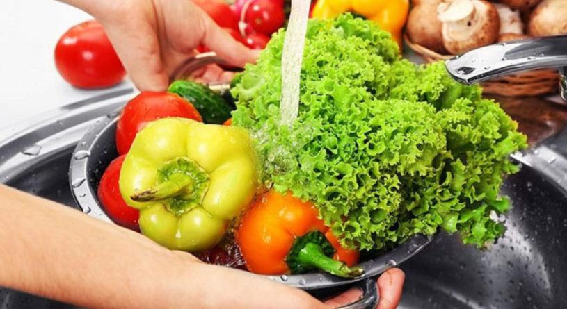 Средство для мытья фруктов, овощей, зелени