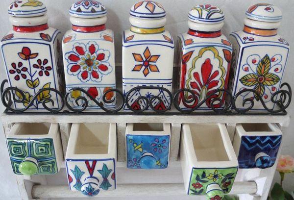 красивые керамические баночки