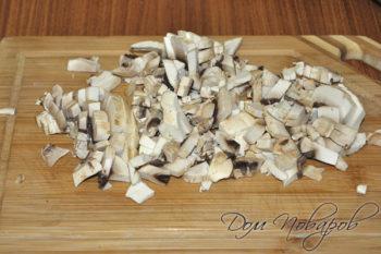 Измельченные грибы