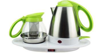 Как очистить от накипи чайник