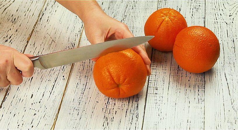 Как почистить апельсин