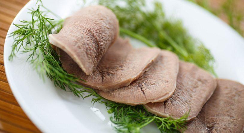 Как варить говяжий и свиной язык