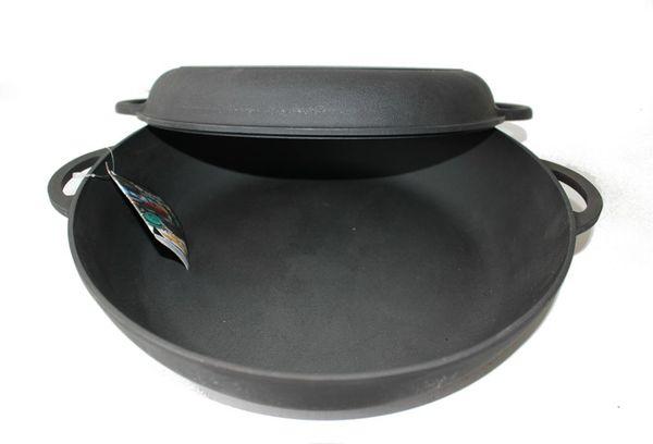 Сковорода жаровня, чугунная