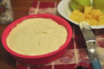 Тесто для шарлотки в форме