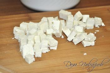 Сыр рассольный кубиками