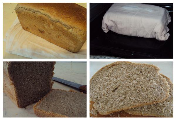 освежаем хлеб при помощи духовки