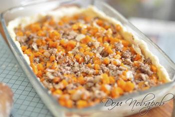 Начинка для пирога с тыквой и мясом