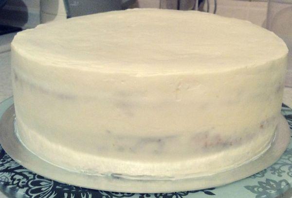 Торт с кремом из творога