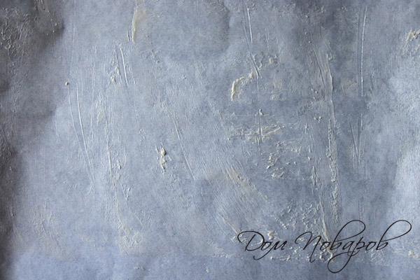 Смазанная маслом бумага для выпечки