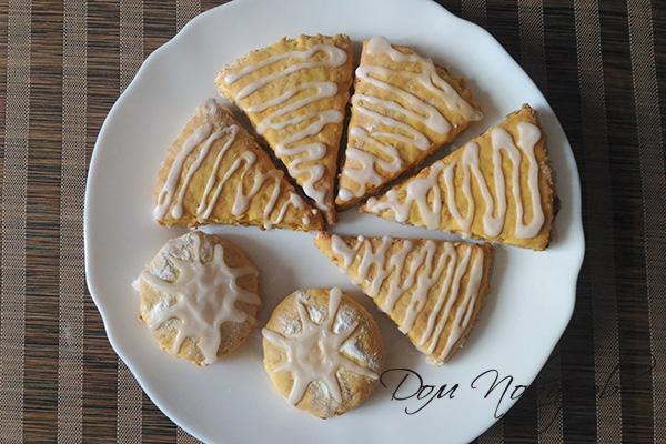 Тыквенное печенье в сахарной глазури