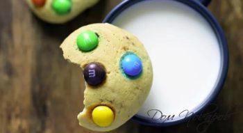 Рецепт печенья с M&M's: отличный десерт на скорую руку