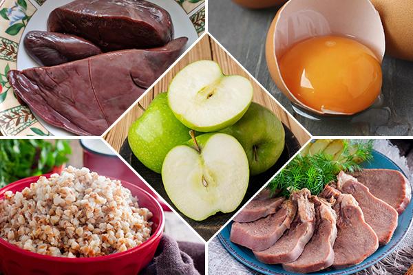 Топ-5 продуктов с высоким содержанием железа