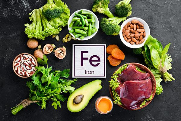 Продукты с высоким содержанием Fe