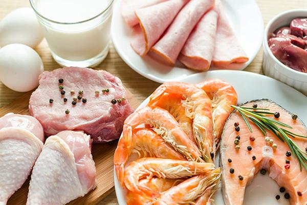 Продукты с высоким содержанием протеина