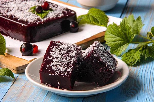 Мармелад из черной смородины без сахара