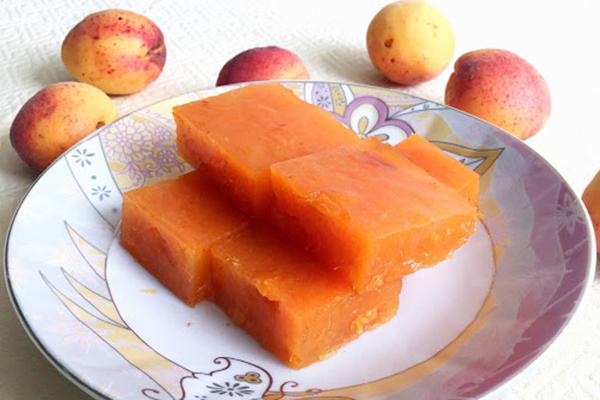 Мармелад из абрикоса без сахара