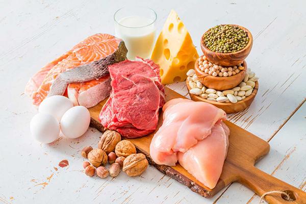 Продукты, богатые протеином