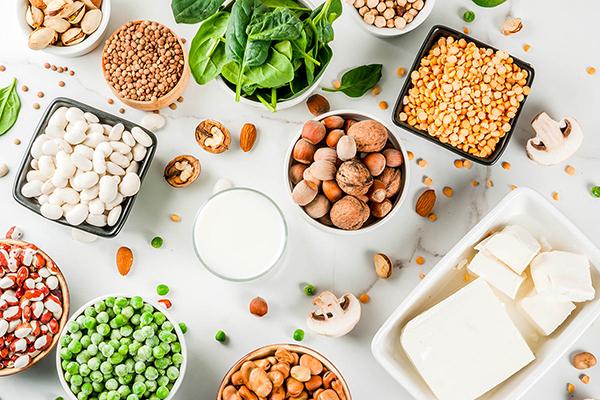 Растительные продукты, богатые белком