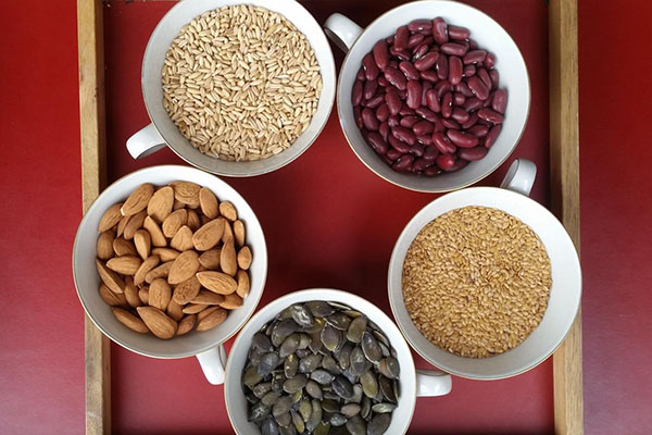 Бобовые, орехи и семена