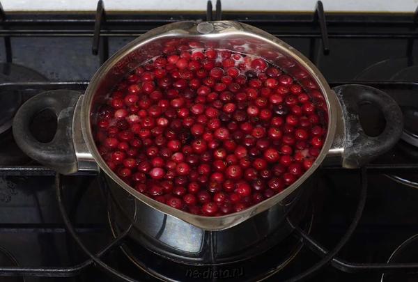 Отваривание ягод